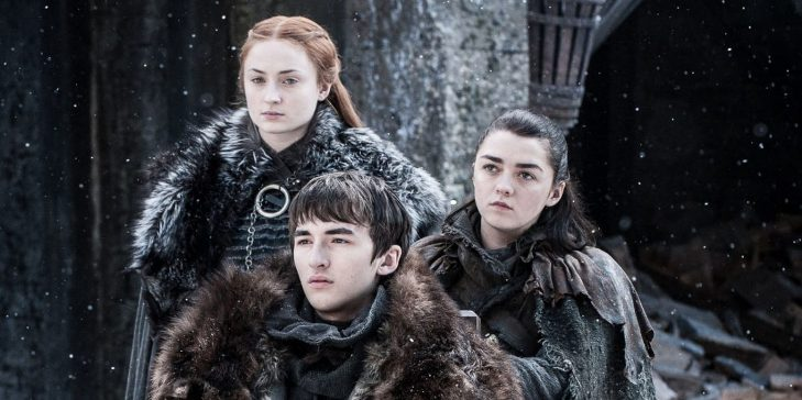 Game of Thrones Arya Stark, Sansa Stark, Bran Stark