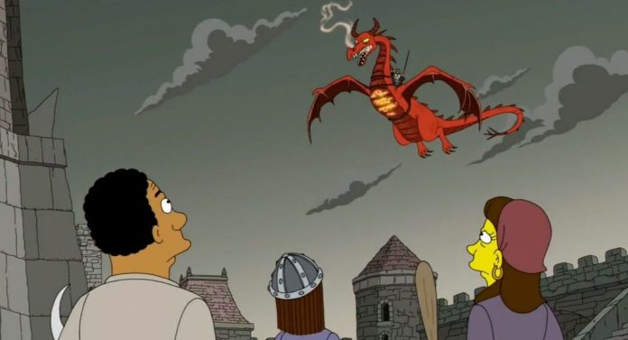 Game of Thrones 8×05 predetto dai Simpson? I Simpson 29X01 I Servson (The Serfsons) Game of Thrones 2