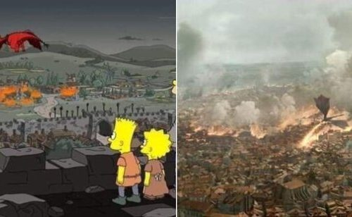Game of Thrones 8×05 predetto dai Simpson?
