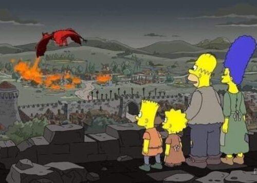 Game of Thrones 8×05 predetto dai Simpson?