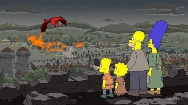 Game of Thrones 8×05 predetto dai Simpson? I Simpson 29X01 I Servson (The Serfsons) Game of Thrones
