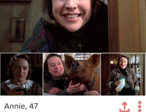Annie su Tinder