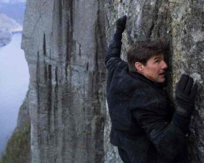 Tom Cruise a Roma per le riprese di Mission Impossible 7