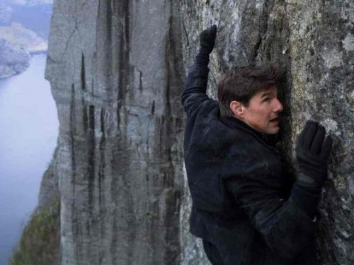 Tom Cruise a Roma per le riprese di Mission Impossible 7