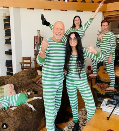 Bruce Willis e Demi Moore uniti dal Coronavirus