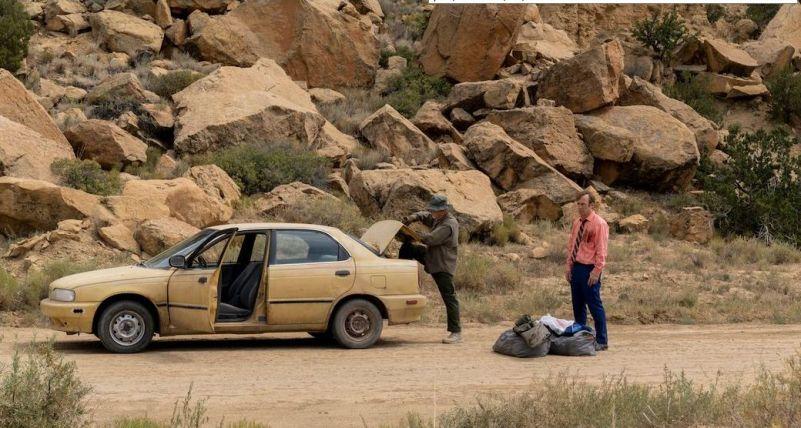 Better Call Saul Jimmy nel deserto