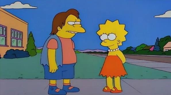 Nelson e Barney sono la stessa persona in tempi diversi?