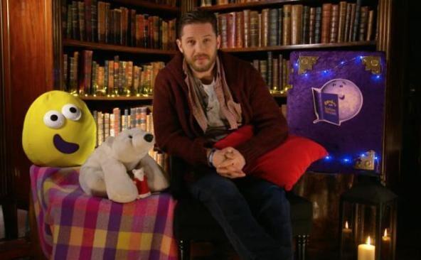 Tom Hardy legge le fiabe della buonanotte per i piccoli fan