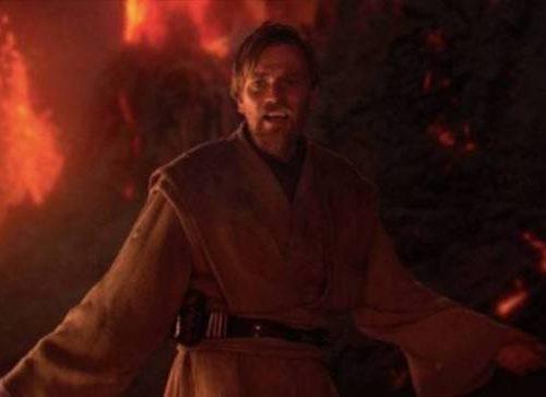 Una statua di Obi-Wan Kenobi sulla montagna più alta della Scozia