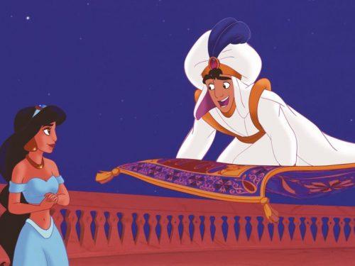 Velocità del tappeto volante di Aladdin