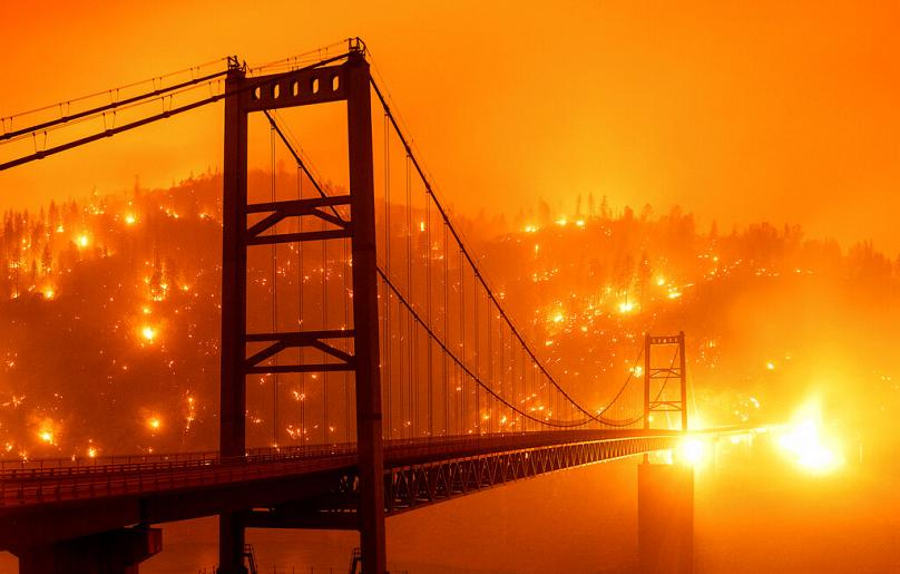 Cielo di San Francisco come quello di Blade Runner 2049