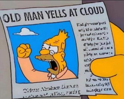 Meme dei Simpson diventa virale durante il dibattito presidenziale di ieri