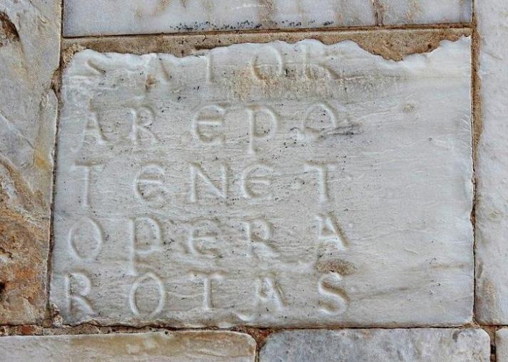 Il quadrato del Sator e Tenet – La sua origine