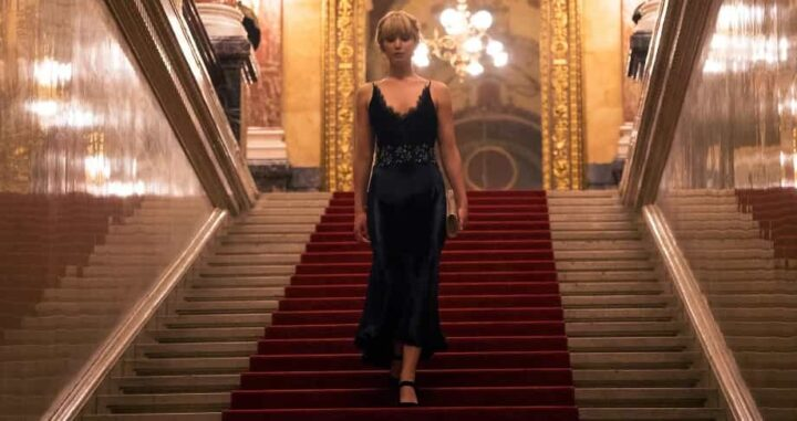 Red Sparrow, Francis Lawrence, Jennifer Lawrence, scale - Le cadute di Jennifer Lawrence