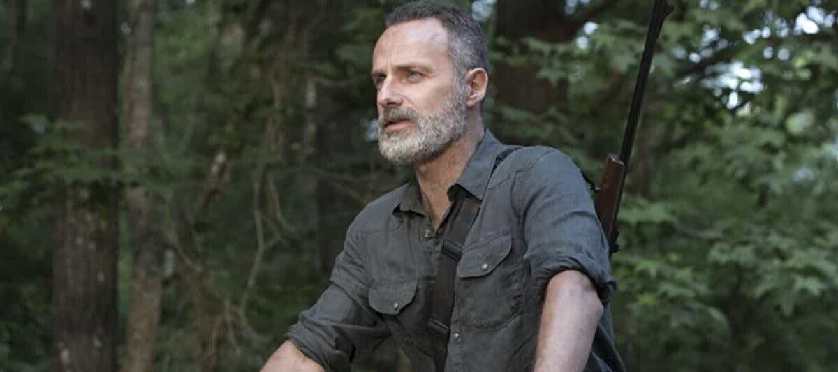 Rick e Michonne in The Walking Dead