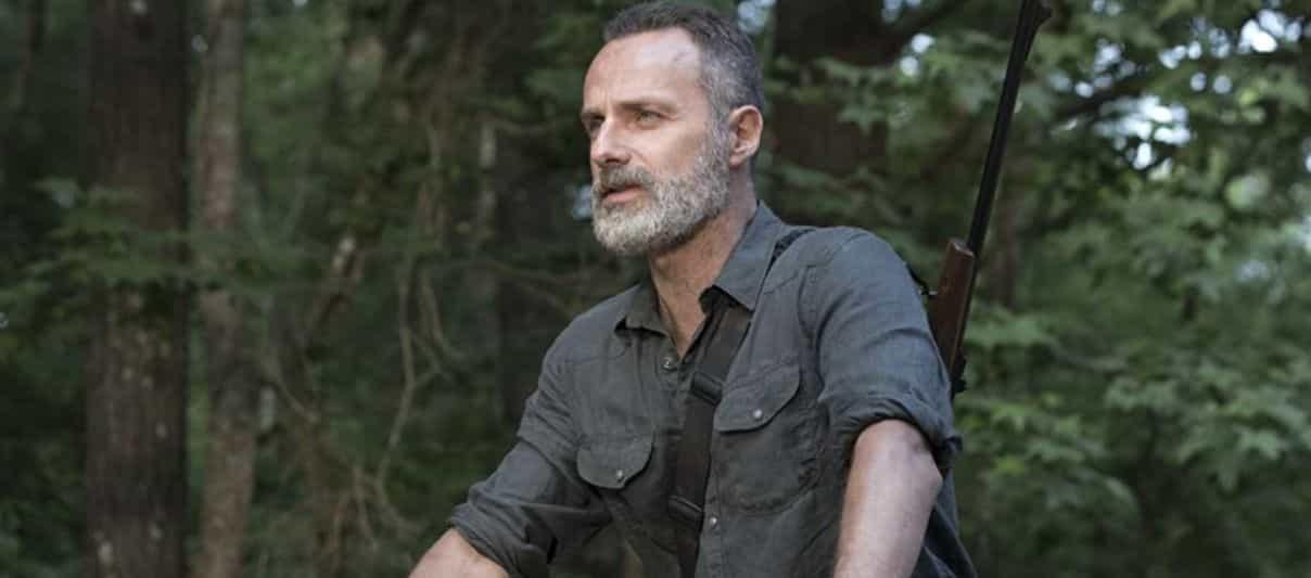 Rick e Michonne. The Walking Dead, Rick Grimes, Andrew Lincoln