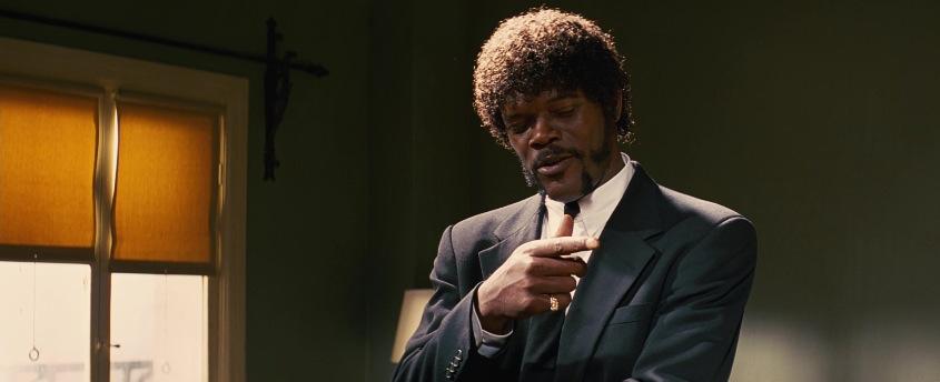 Pulp Fiction frasi, citazioni e dialoghi di Quentin Tarantino, Samuel L. Jackson, Jules Winnfield, parla