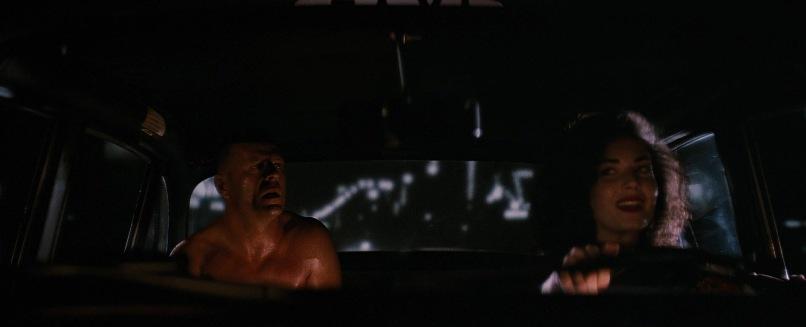 Pulp Fiction citazioni e dialoghi di Quentin Tarantino, Bruce Willis, Butch Coolidge sul taxi