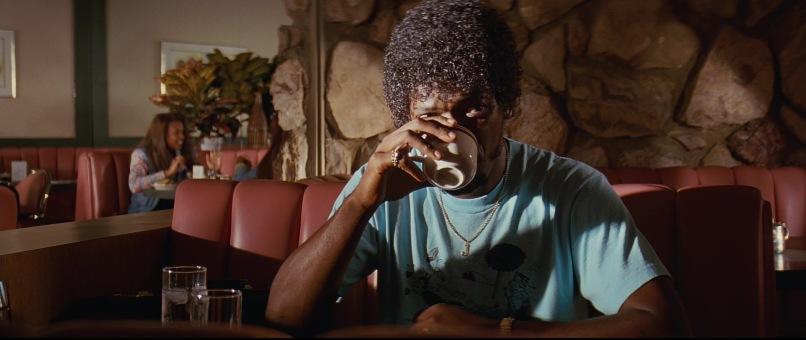Pulp Fiction frasi, citazioni e dialoghi di Quentin Tarantino, Samuel L. Jackson, Jules Winnfield, caffè, valigetta