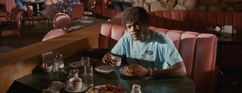 Pulp Fiction frasi, citazioni e dialoghi di Quentin Tarantino, Samuel L. Jackson, Jules Winnfield, caffè
