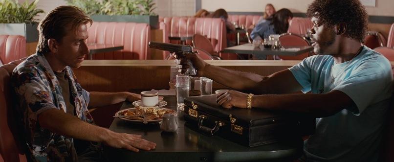 Pulp Fiction frasi, citazioni e dialoghi di Quentin Tarantino, Tim Roth, Ringo Zucchino, Samuel L. Jackson, Jules Winnfield, valigetta