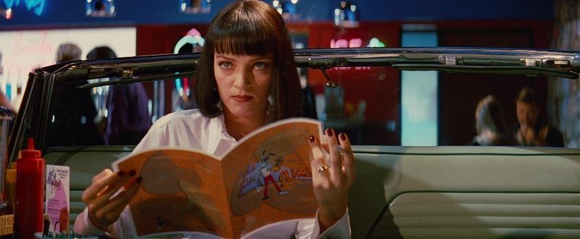 Curiosità ed errori presenti in Pulp fiction di Quentin Tarantino con John Travolta, Samuel L. Jackson, Uma Thurman, Harvey Keitel