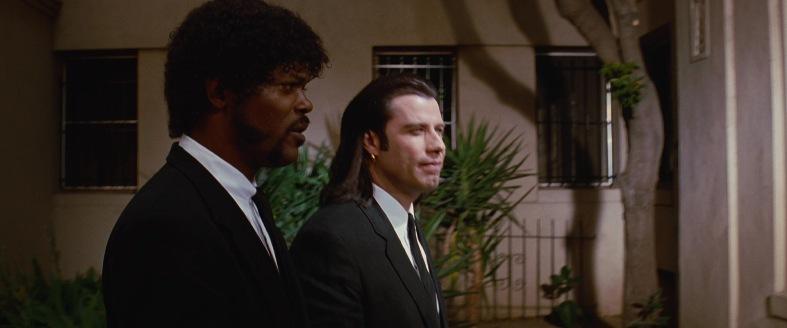 Pulp Fiction citazioni e dialoghi Samuel L. Jackson e John Travolta