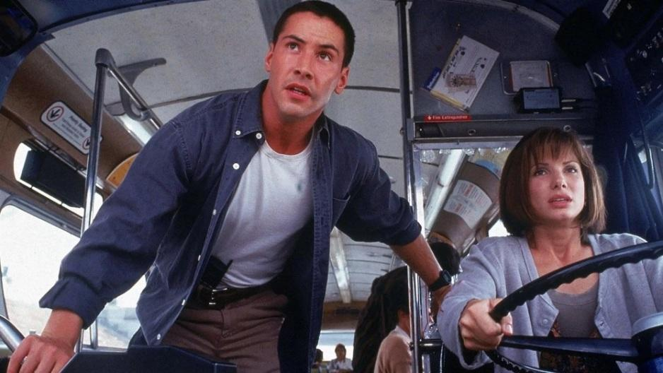 Speed citazioni e dialoghi di Jan de Bont con Keanu Reeves, Dennis Hopper e Sandra Bullock al volante