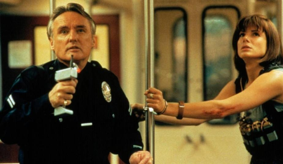 Speed frasi, citazioni e dialoghi di Jan de Bont con Keanu Reeves, Dennis Hopper e Sandra Bullock sulla metropolitana