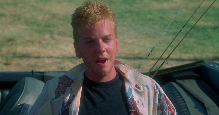 Stand by Me - Ricordo di un'estate citazioni e dialoghi, di Rob Reiner, con Kiefer Sutherland, macchina decapottabile, stuzzicadenti