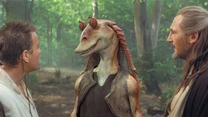 Jar Jar Binks maestro Sith? Star Wars,  La minaccia fantasma