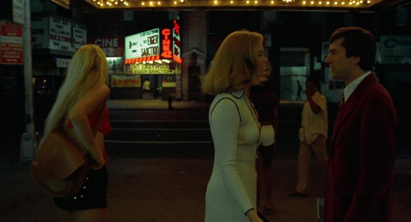 Taxi Driver frasi, citazioni e dialoghi della pellicola di Martin Scorsese con Robert De Niro, Cybill Shepherd, Peter Boyle, Jodie Foster, Harvey Keitel, sala cinematografica, discussione