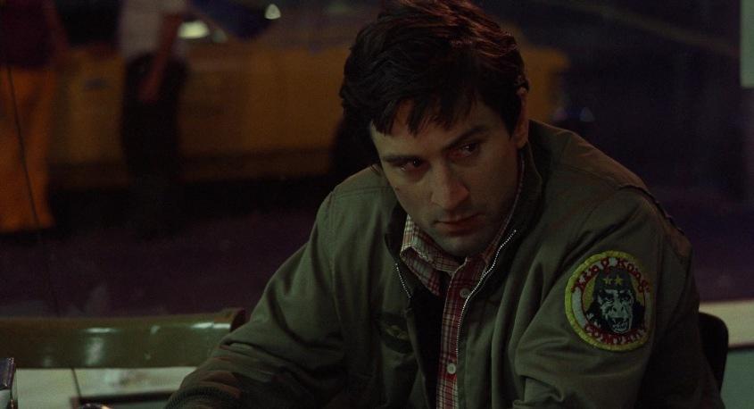 Taxi Driver frasi, citazioni e dialoghi della pellicola di Martin Scorsese con Robert De Niro, Cybill Shepherd, Peter Boyle, Jodie Foster, Harvey Keitel, giubbotto