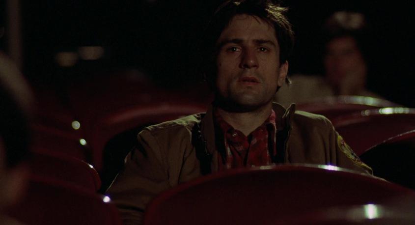 Taxi Driver frasi, citazioni e dialoghi della pellicola di Martin Scorsese con Robert De Niro, Cybill Shepherd, Peter Boyle, Jodie Foster, Harvey Keitel, sala cinematografica, cinema erotico