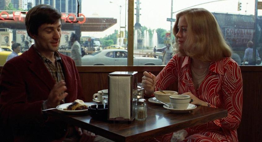 Taxi Driver frasi, citazioni e dialoghi della pellicola di Martin Scorsese con Robert De Niro, Cybill Shepherd, Peter Boyle, Jodie Foster, Harvey Keitel, colazione