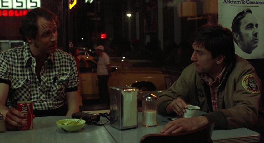 Taxi Driver citazioni e dialoghi della pellicola di Martin Scorsese con Robert De Niro, Cybill Shepherd, Peter Boyle, Jodie Foster, Harvey Keitel, coca cola