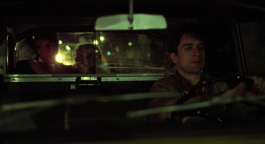 Taxi Driver citazioni e dialoghi della pellicola di Martin Scorsese con Robert De Niro, Cybill Shepherd, Peter Boyle, Jodie Foster, Harvey Keitel, macchina