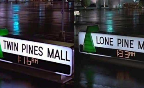 Twin Pines Mall – una curiosità su Ritorno al futuro