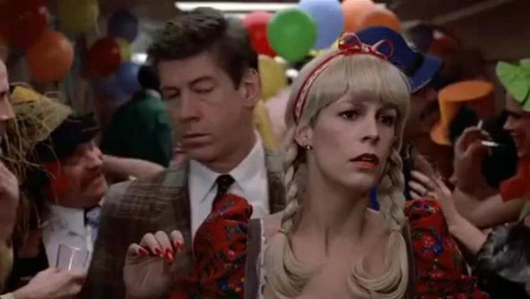 Recensione del film Una poltrona per due, di John Landis con Dan Aykroyd, Eddie Murphy e Jamie Lee Curtis, party