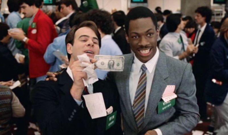 Una poltrona per due citazioni e dialoghi della pellicola di John Landis, borsa Wall Street, dollaro