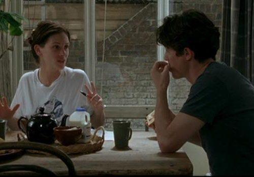 Notting Hill, con Hugh Grant e Julia Roberts