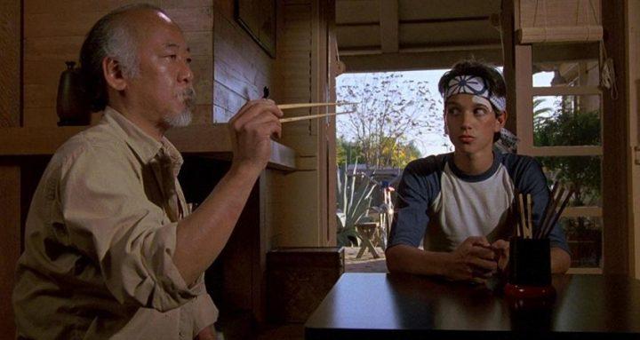 Migliori frasi del maestro Miyagi, Per vincere domani - The Karate Kid, Ralph Macchio, Pat Morita