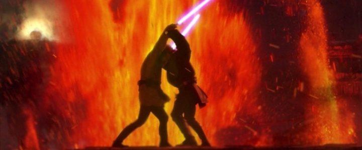 Star Wars Episodio III - La vendetta dei Sith citazioni e dialoghi, di George Lucas, Anakin, Obi-Wan, Mustafar, combattimento, spade laser