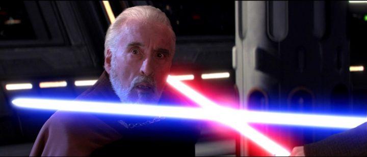 Star Wars Episodio III - La vendetta dei Sith citazioni e dialoghi, di George Lucas con Christopher Lee, Conte Dooku