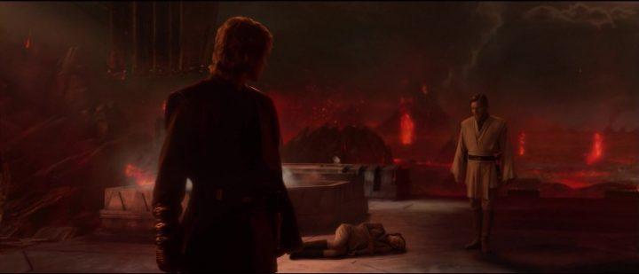 Star Wars Episodio III - La vendetta dei Sith citazioni e dialoghi, di George Lucas, Anakin, Obi-Wan, Mustafar