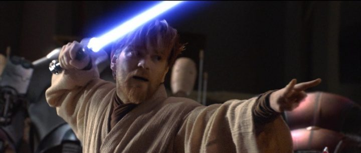 Star Wars Episodio III - La vendetta dei Sith citazioni e dialoghi, di George Lucas con Ewan McGregor, Obi-Wan Kenobi, spada laser