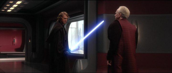 Star Wars Episodio III - La vendetta dei Sith citazioni e dialoghi, di George Lucas, Anakin, Palpatine, spada laser