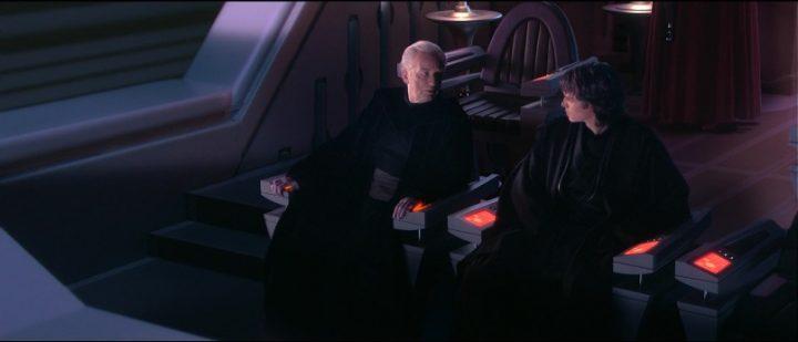 Star Wars Episodio III - La vendetta dei Sith citazioni e dialoghi, di George Lucas, Anakin, Palpatine, dialogo