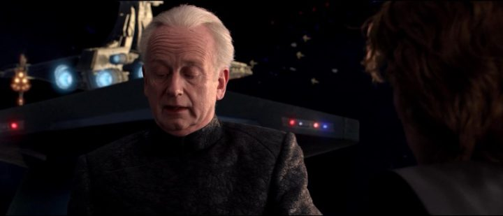 Star Wars Episodio III - La vendetta dei Sith frasi, citazioni e dialoghi, di George Lucas, Hayden Christensen, Anakin Skywalker, Palpatine