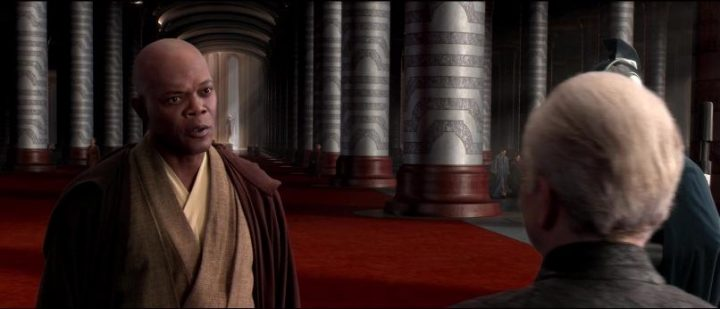 Star Wars Episodio III - La vendetta dei Sith citazioni e dialoghi, di George Lucas con Ian McDiarmid, Samuel L. Jackson, Mace Windu, Palpatine